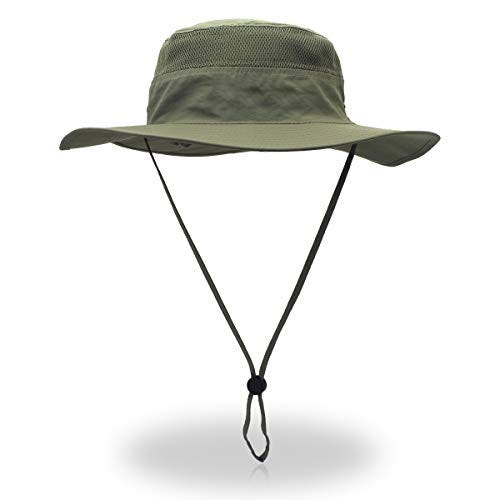 Wide Brim Bucket Hat