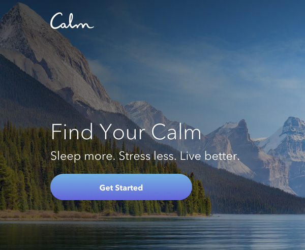 Try Calm for free