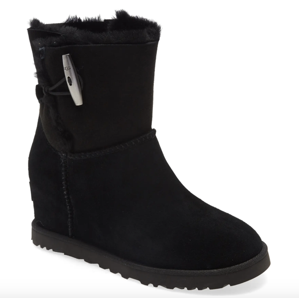 Classic Femme Toggle Wedge Boot