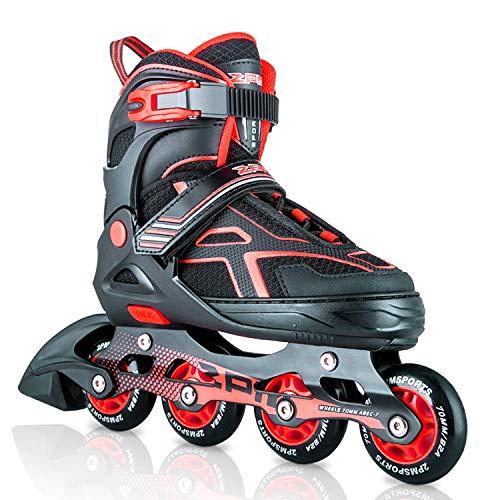 2PM SPORTS Torinx Red Black Boys Adjustable Inline Skates