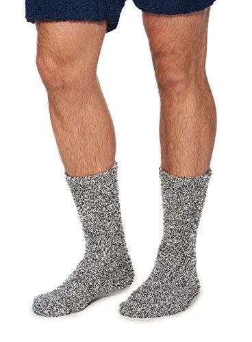 Barefoot Dreams CozyChic Heathered Men's Socks