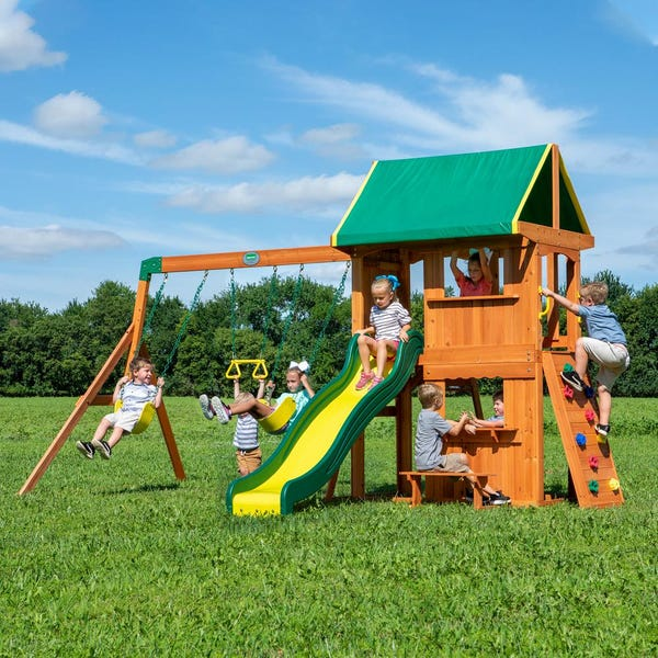 Somerset All Cedar Swing Set