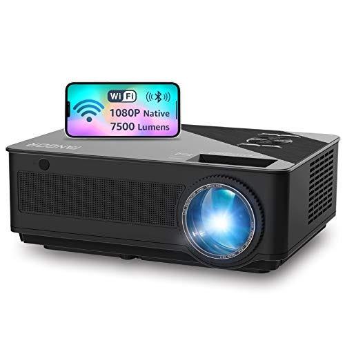 WiFi Projector, Native 1080P Full HD Video Projector