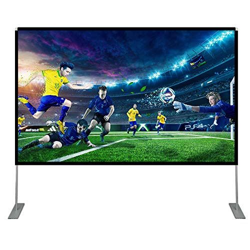 Abdtech 100 inch Projector Screen with Stand