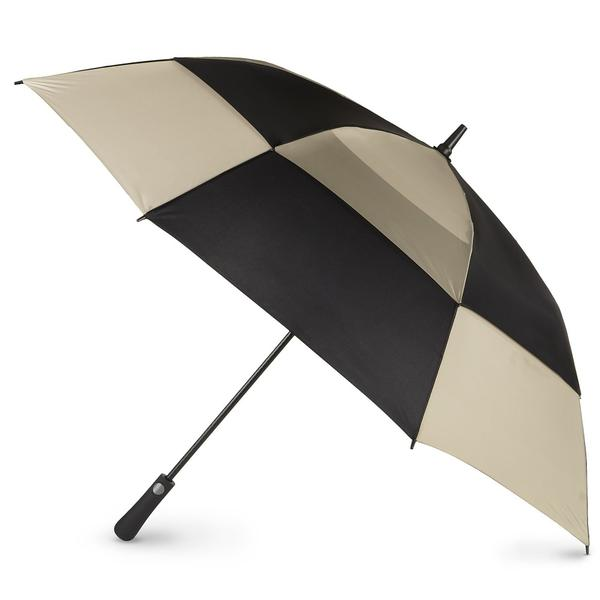 Blue Line Golf Size Auto Open Vented Golf Stick Umbrella
