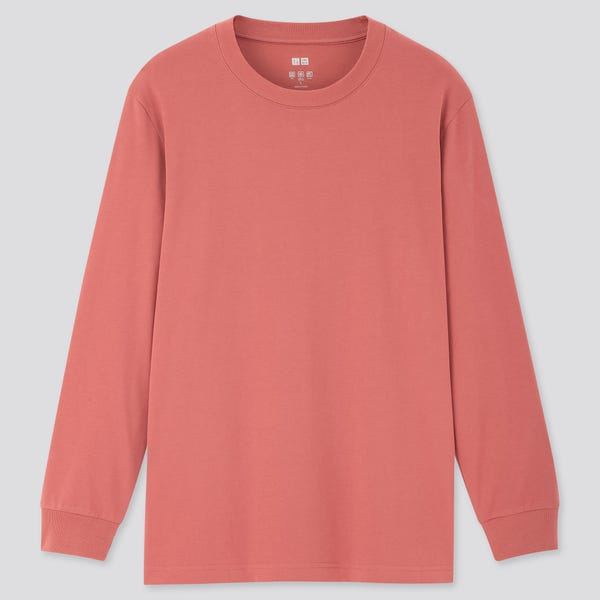 AIRism UV PROTECTION CREW NECK LONG-SLEEVE T-SHIRT