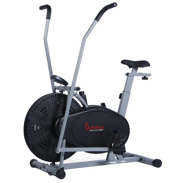 Sunny Health & Fitness Air Resistance Hybrid Bike