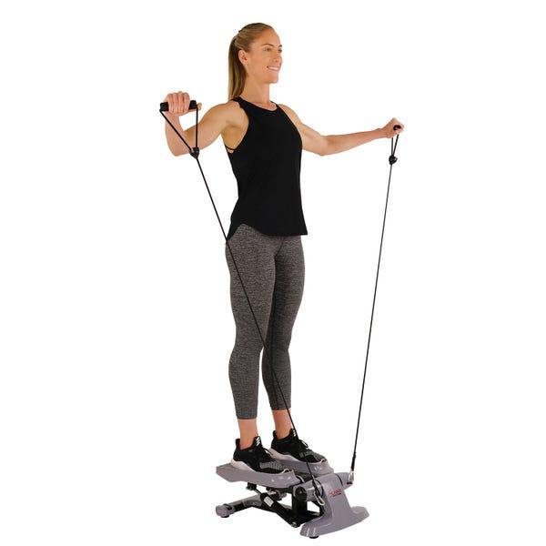 Sunny Health & Fitness Versa Stepper Step Machine w/ Wide Non-Slip Pedals