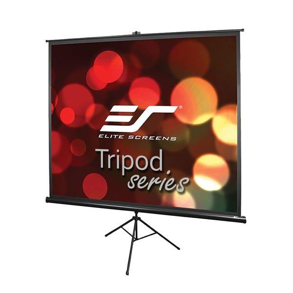 100-INCH 4:3, Adjustable Multi Aspect Ratio Portable Indoor Outdoor Projector Screen