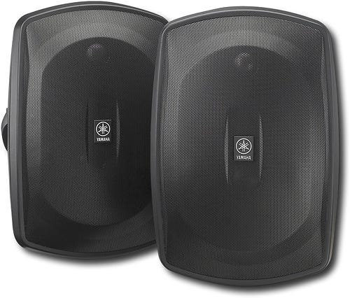 """Natural Sound 6-1/2"""" 2-Way All-Weather Outdoor Speakers"""