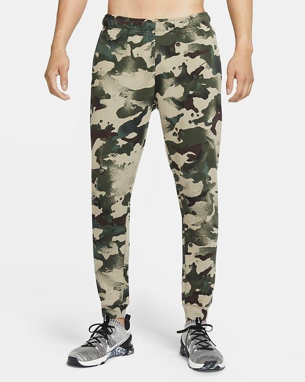 Men's Camo Training Pants Nike Dri-FIT