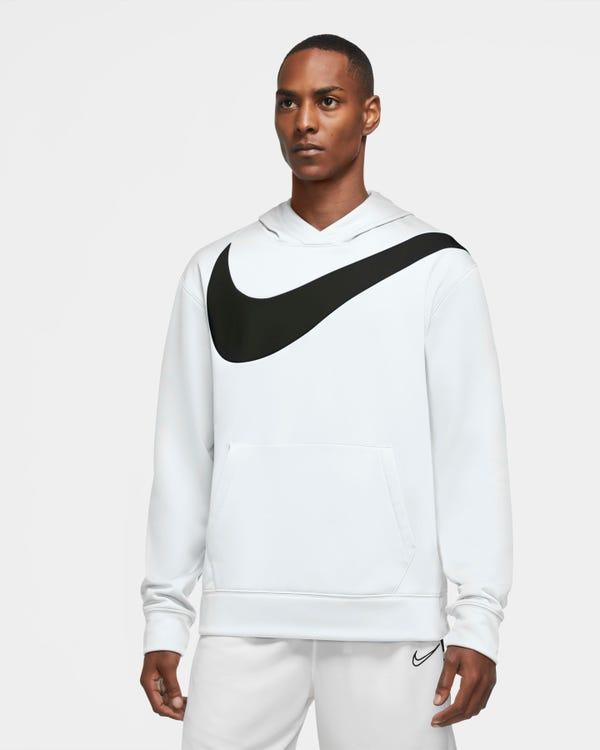 Men's Basketball Pullover Hoodie Nike Therma HBR