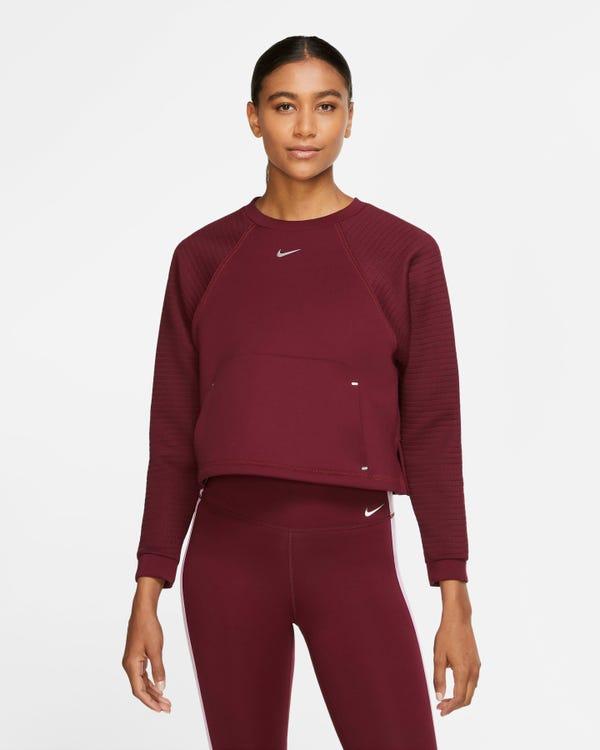 Women's Fleece Crew Nike Pro