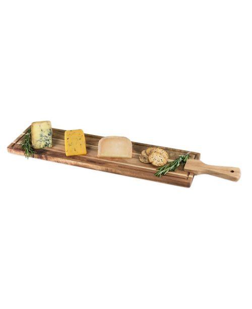 Acacia Wood Tapas and Charcuterie Board