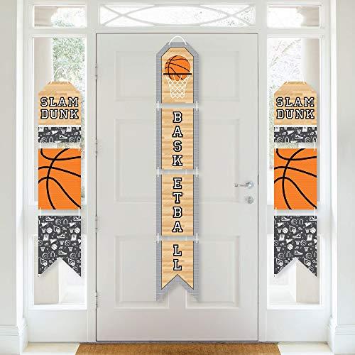 Basketball Hanging Vertical Paper Door Banners