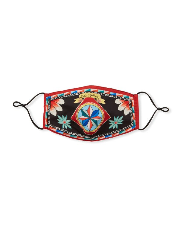 Reusable Heritage Print Cloth Mask Face Covering
