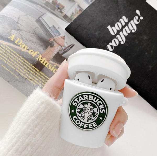 Coffee cup Starbucks Airpods Case for AirPods 1,2