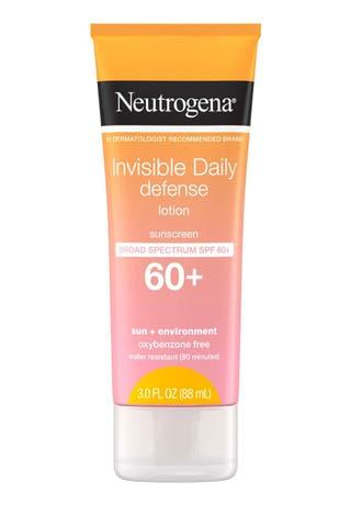 Neutrogena Invisible Daily Defense Lotion SPF 60+
