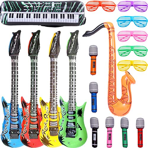 Inflatable Rock Star Party Props