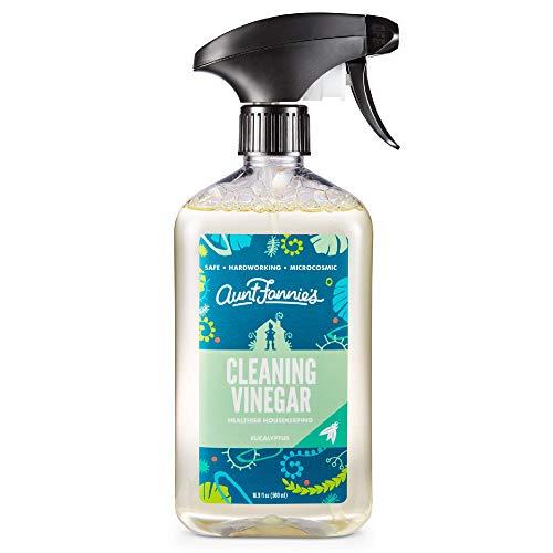 Aunt Fannie's All Purpose Cleaning Vinegar 16.9 Ounces, Multipurpose Surface Spray Cleaner (Eucalyptus)