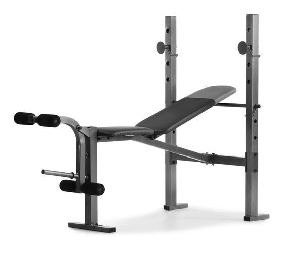 Weider XR 6.1 Adjustable Weight Bench with Leg Developer