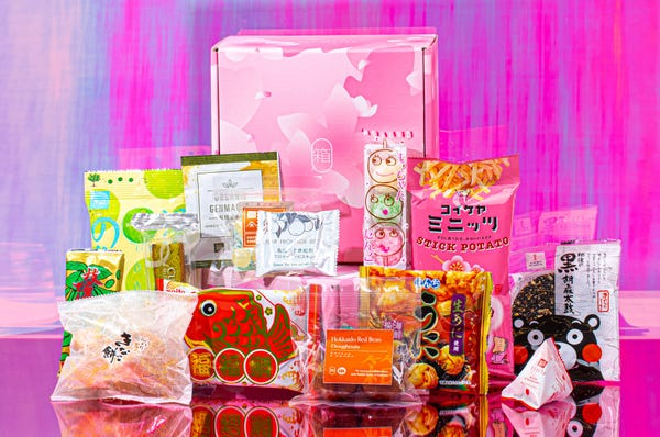 Limited Edition Sakura Box