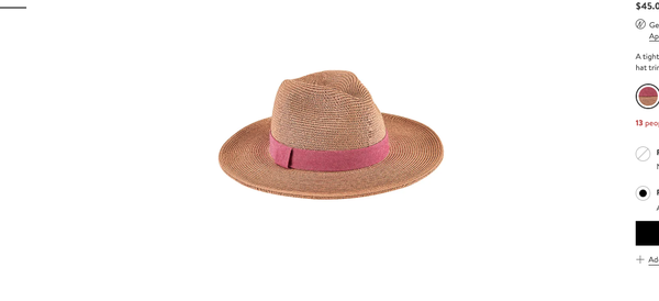 Ultrabraid Panama Sun Hat