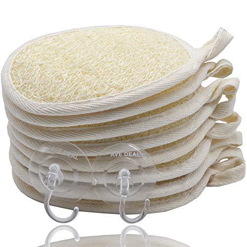 Exfoliating Loofah Sponge Pads (Pack of 8)