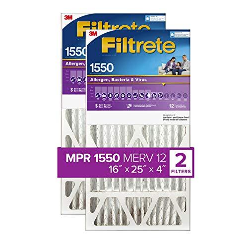 Filtrete 16x25x4, AC Furnace Air Filter