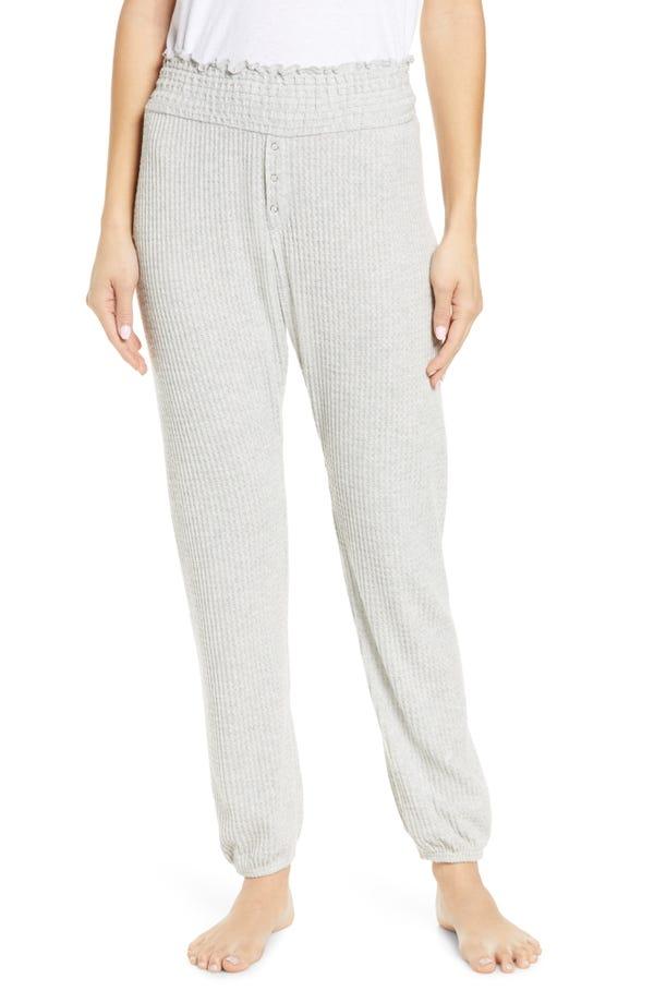 BP. Smocked Thermal Jogger Pants (Regular & Plus Size)