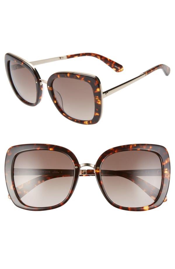 kate spade new york kimora 54mm gradient sunglasses