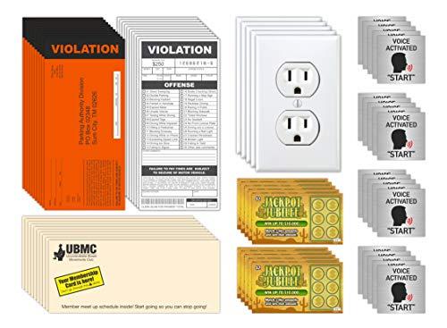 Prank Gag Practical Joke Set Kit for Adults,