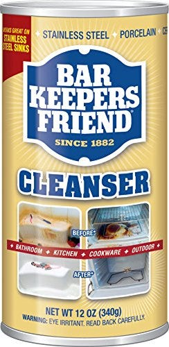 Bar Keepers Friend Powdered Cleanser 12-Ounces (1-Pack)