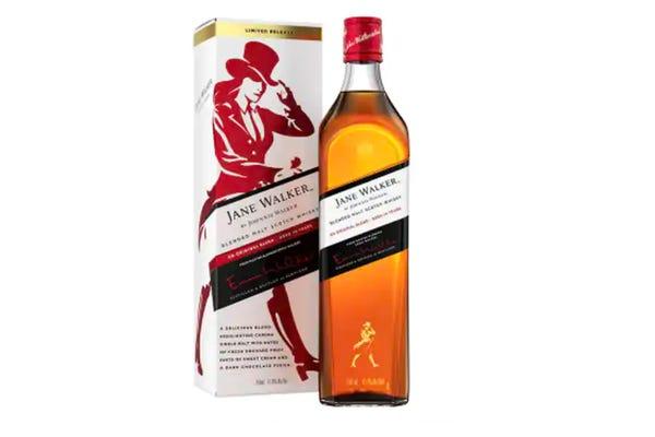 Jane Walker blended scotch whisky