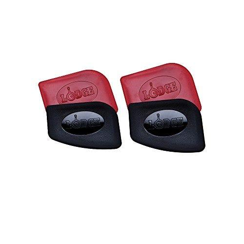 Lodge Polycarbonate Red and Black Pan Scraper, Set of 4