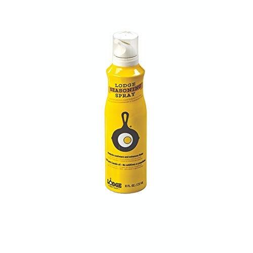 Lodge Seasoning Spray, 8-Ounce ,Yellow