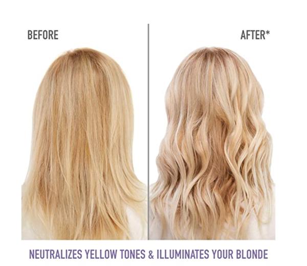MATRIX Total Results So Silver Color Depositing Purple Shampoo