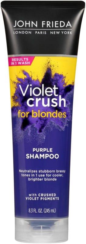 John Frieda Violet Crush for Blondes Purple Shampoo