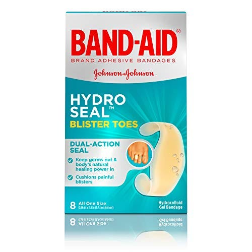 Band-Aid Brand Hydro Seal Adhesive Bandages For Toe Blisters