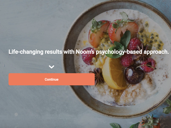 Noom: Stop dieting. -- Try for Seven Days