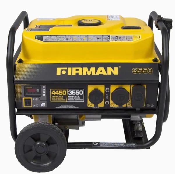 Firman Performance 3550-Running-Watt Portable Generator with Oem Engine