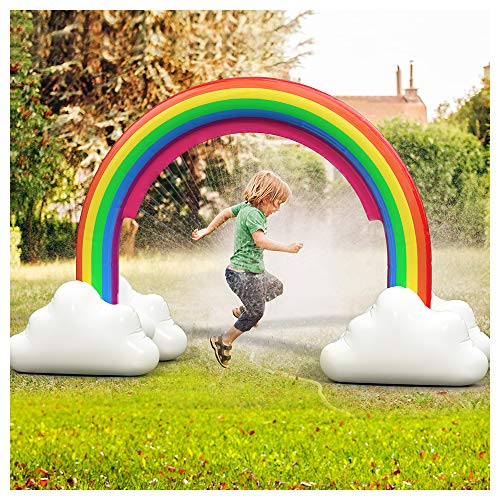 Large Inflatable Rainbow Arch Sprinkler