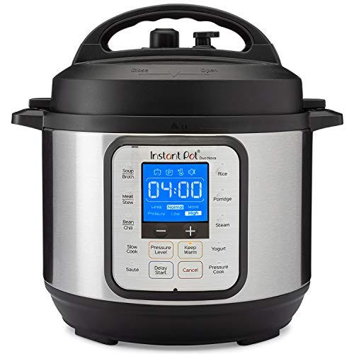 Instant Pot Duo Nova 7-in-1 Electric Pressure Cooker, Slow Cooker, Rice Cooker, Steamer, Saute, Yogurt Maker, 3 Quart