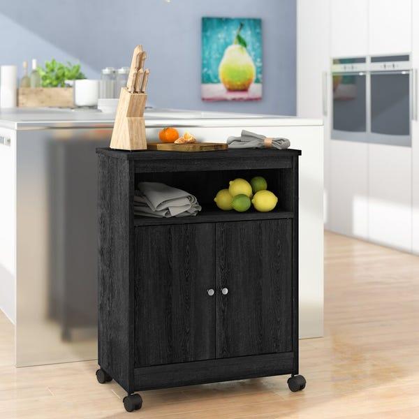 "Black Kory 30"" Kitchen Pantry"