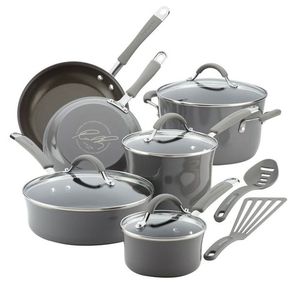 12-Piece Cucina Nonstick Pots And Pans Cookware Set