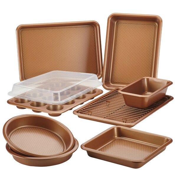 10 Piece Non Stick Bakeware Set