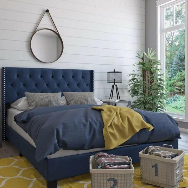 Nadine Queen Upholstered Standard Bed