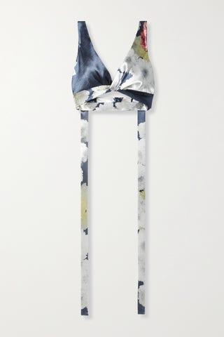 Floral Print Bralette