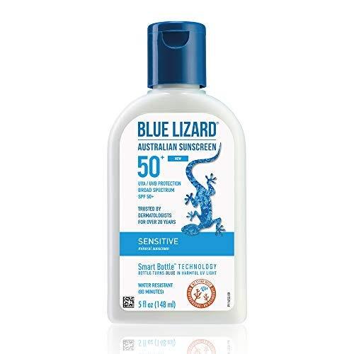 BLUE LIZARD Sensitive Mineral Sunscreen with Zinc Oxide