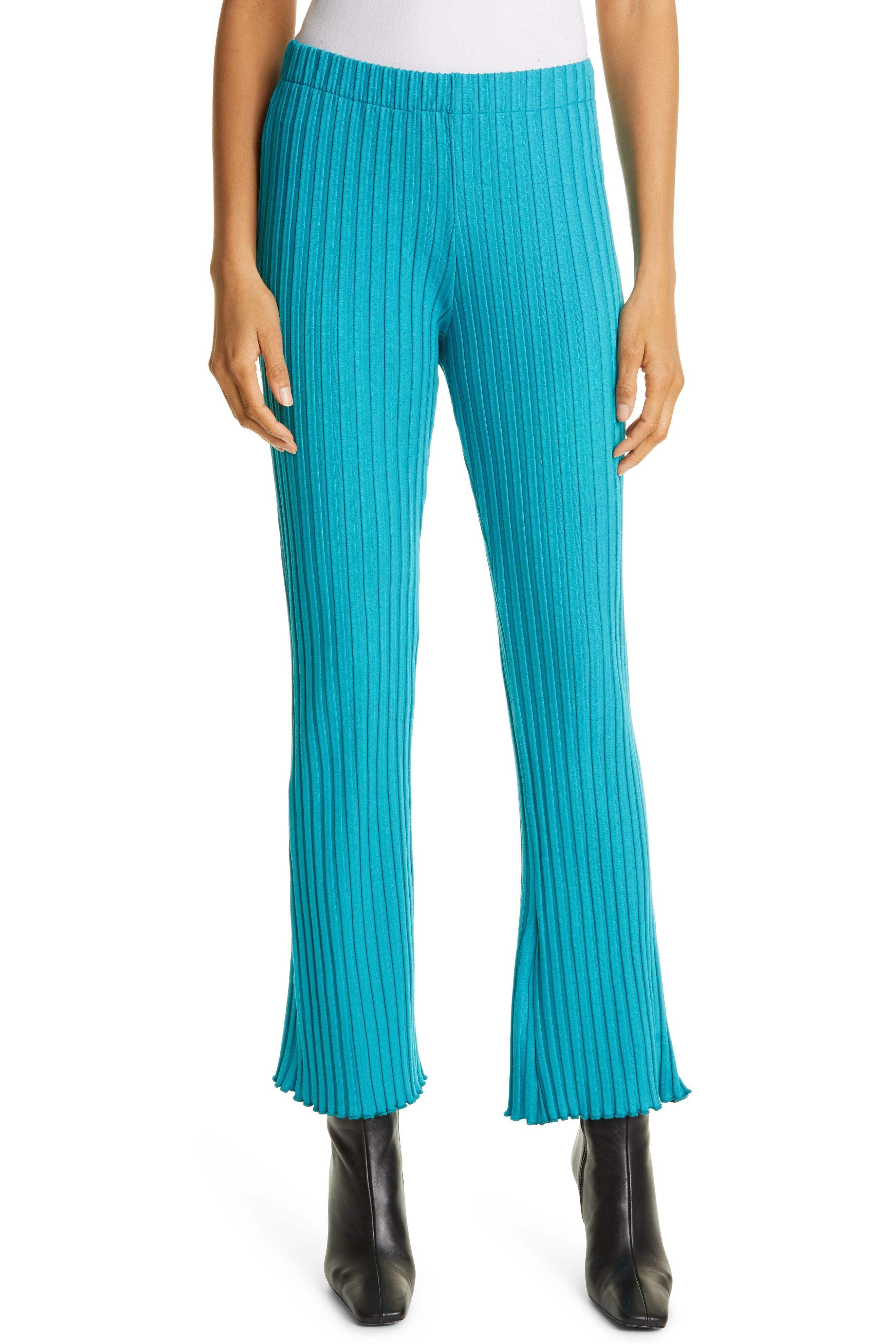Cyrene Ribbed High Waist Pants